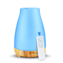 200ml Remote Control Electric Aroma Diffuser Air Humidifier  Essential Oil Diffuser Aroma Lamp Aromatherapy Mist Maker 200ml aroma essential oil diffuser ultrasonic air humidifier electric aroma diffuser oil diffuser aromatherapy diffuser