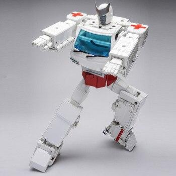WJ Transformation Boy Toys MPP30 Figure Action MP30 8097 Metal Part Deformation Car Robots Model