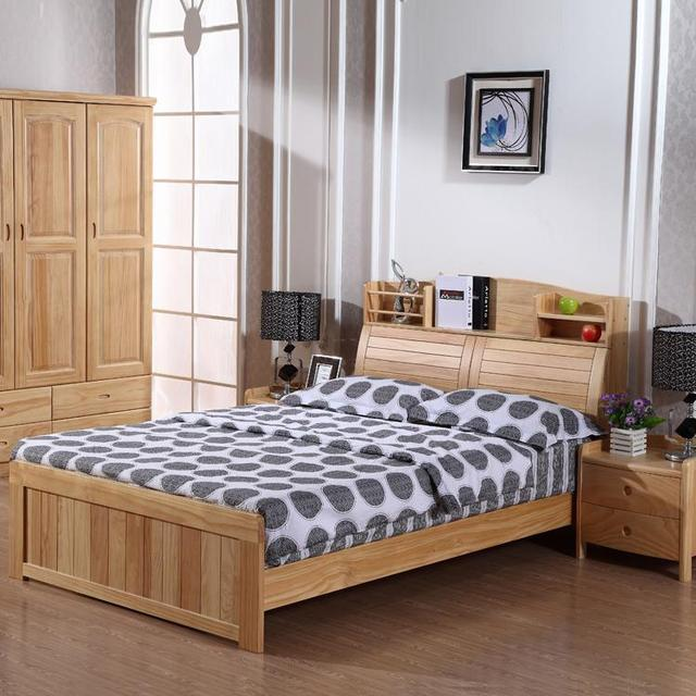 Counter New Zealand pine bookcase solid wood bedroom furniture child ...