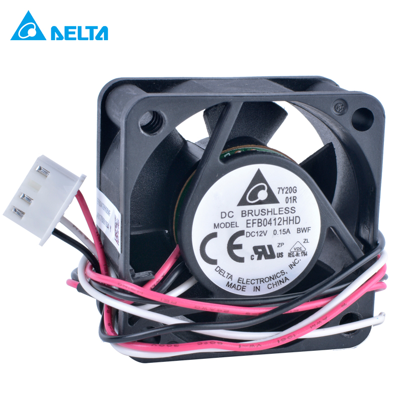 Wholesale For for delta EFB0412HHD 4020 12V 0.15A For H3C 3600 Switch Fan Cooling Fan