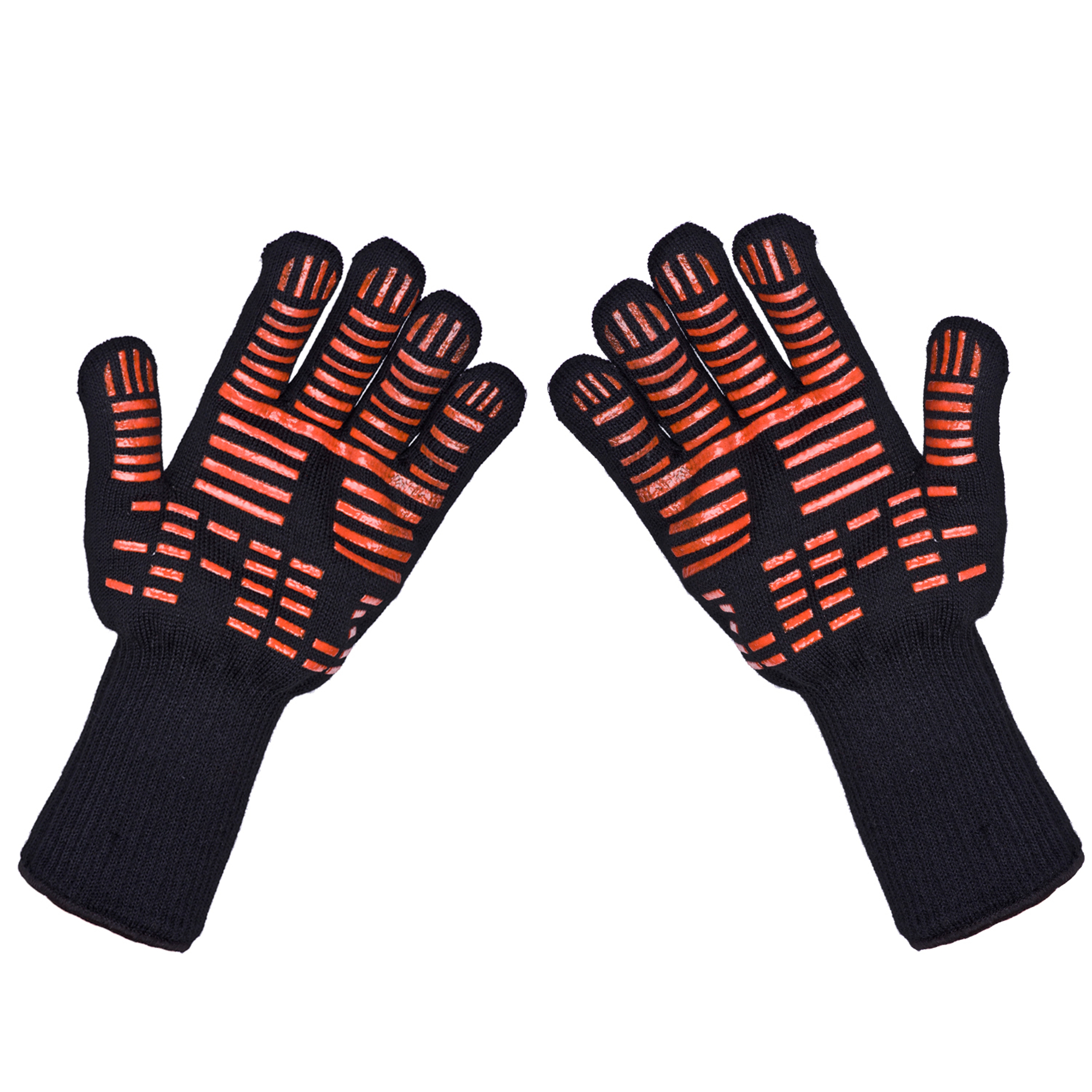 TTLIFE Hot Oven Mitts Gloves BBQ Grilling Cooking Gloves - 932F Extreme Heat Resistant Gloves Long For Extra Forearm Protection