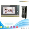 Free DHL XSL-V80-F 1V1 Manufacturer 2016 7inch Wired Video Door Phone Intercom System Door LocK Access Control Home Security