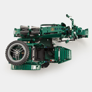 Image 3 - Military RC Motorcycle Building Blocks Fit Technic WW2 Autocycle Army Vehicle Bricks Toys Gifts For Children Boys Kids