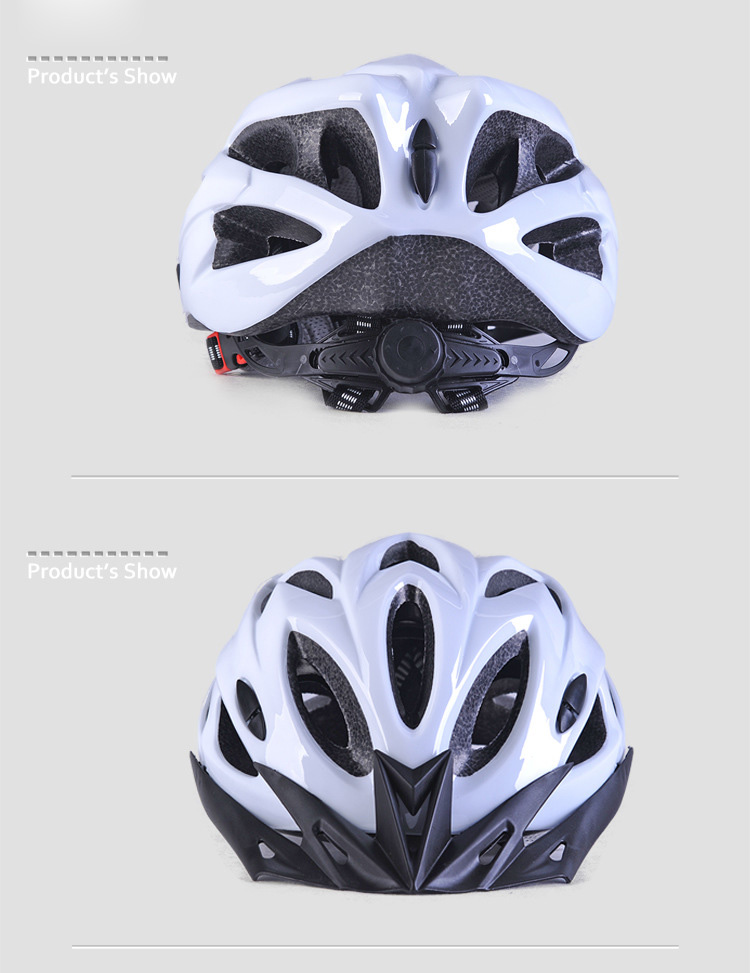 220g Ultralight Bicycle Helmet CE Certification Cycling Helmet In-mold Bike Safety Helmet Casco Ciclismo 56-62 CM-16
