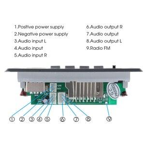 Image 5 - Kebidu DC 5V 12V Per Auto Bluetooth 5.0 MP3 WMA FM AUX Scheda di Decodifica Audio Modulo FM TF Radio automobile Auto MP3 Altoparlante Accessori