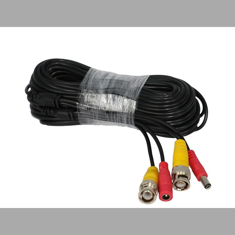 BNC Video Power Siamese Cable 65ft 18m 20m for Analog AHD CVI CCTV Surveillance Camera bnc м клемма каркам
