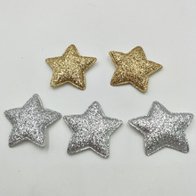 """20 шт 3,3 см Kawaii мягкие блестящие нашивки со звездами блестящие аппликации для одежды Швейные принадлежности """"сделай сам"""" Ремесло Украшение"""