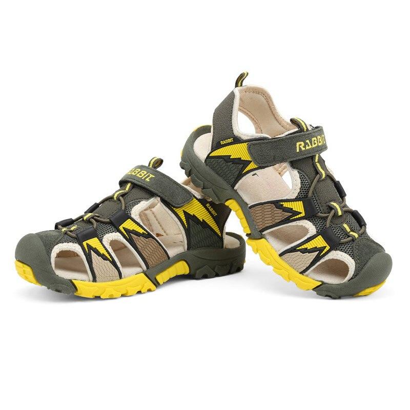 b3d85d343 Фото 1 Мальчики Сандалии Лето новый стиль детская обувь; Мода для мальчиков;  открытые сандалии ...
