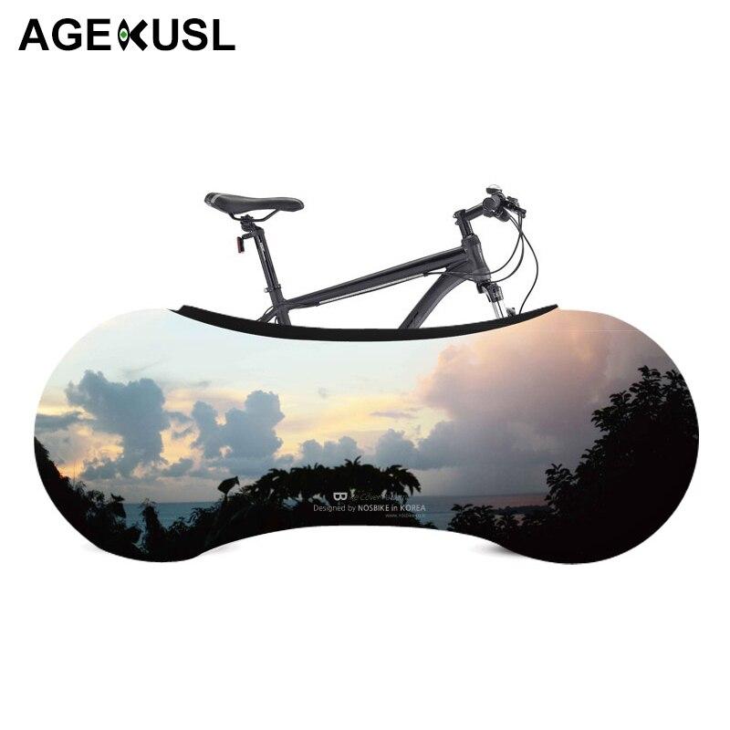 AGEKUSL bicicleta cubierta de polvo de equipo de protección arañazos Protector a prueba de MTB Carretera de montaña Brompton plegable bicicleta accesorios