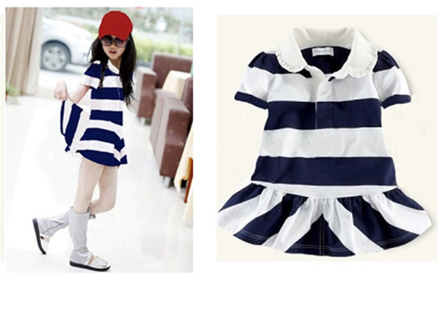 Hot Sale New Summer Children Casual Clothing Baby Girls Short Sleeve