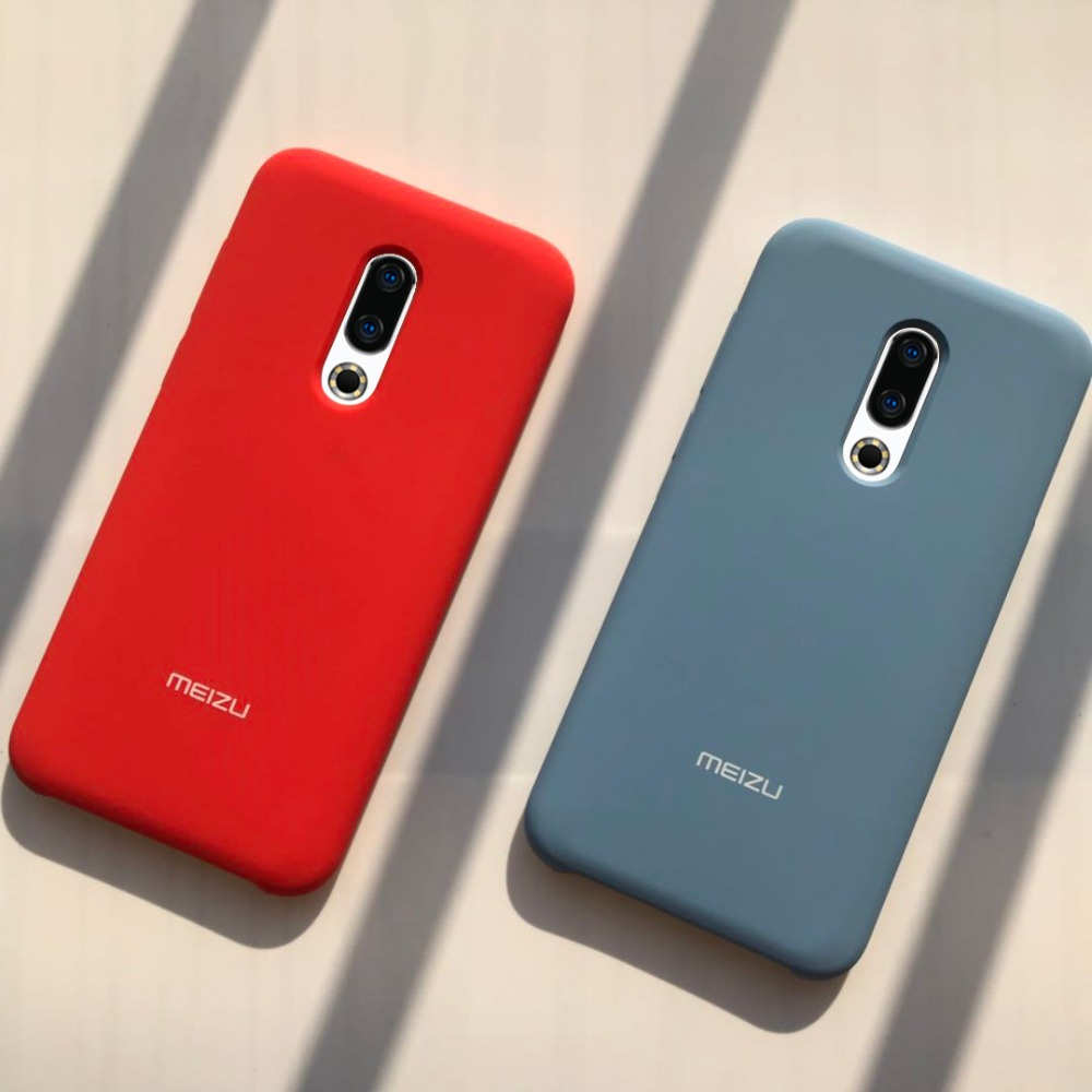 meizu 16th case luxury liquid silicone protective cover 6 0