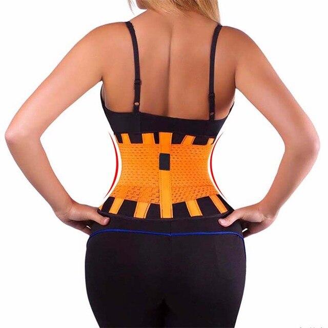 Waist Trainer Waist Support Belt Faja Lumbar Waist Support Brace Belt Sweat Belt Plus Size S-3XL Women Shapewear Corset 1