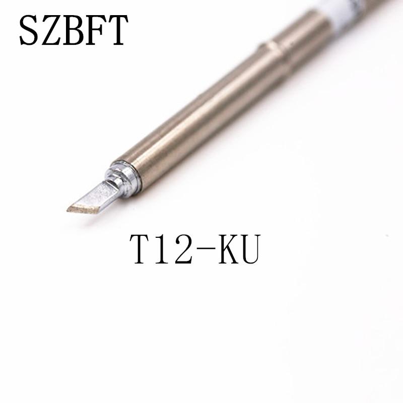 SZBFT Groty lutownicze T12-KU D08 D12 D16 D24 DL32 D52 seria do - Sprzęt spawalniczy - Zdjęcie 2