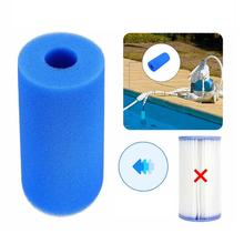 3 Sizes Pool Filter Cleaning Equipment Foam Reusable Washable Sponge Cartridge Swimming