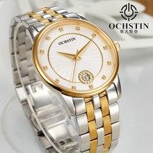2016 новая мода золотой кварцевые часы известного бренда OCHSTIN женские платья женские часы Элегантные часы montre femme relojes де marca