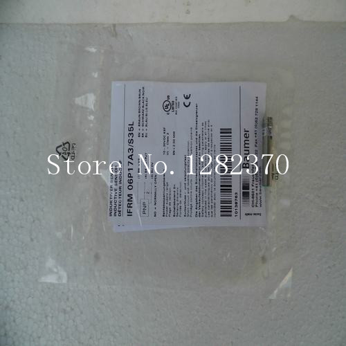 цена на [SA] New original authentic special sales Baumer sensor switch IFRM 06P17A3 / S35L spot --2PCS/LOT
