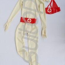Полный Чехол латексный костюм одежда ruber zentai включая капюшоны носки перчатки с молнией сзади к передней включая марлевую маску