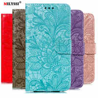 Flip PU Leather Case For Samsung Galaxy A10 A20 E A40 A30 A60 A70 M10 M20 S10 5G S9 A5 A6 A7 A9 J4 J6 2018 Plus Wallet Case