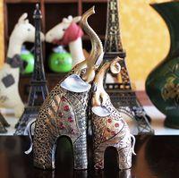 Resin Elephant Handicrafts Resin Handicraft Factory Direct Sales Of Millions Of Spot