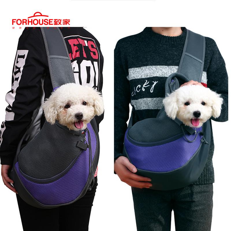Pet Carrier Dog Anteriore Del Torace Zaino Cinque Fori Cane Zaino Outdoor Carrier Tote Bag Sling Supporto Di Maglia Gatto Del Cane Del Cucciolo Carrier