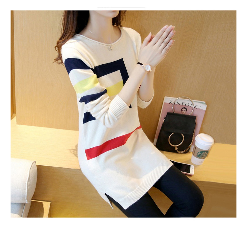 18 DRL sweater women Basic woman sweater pullovers long sleeve Jumper Long Sleeve Sweaters Autumn Winter pull femme hiver 9