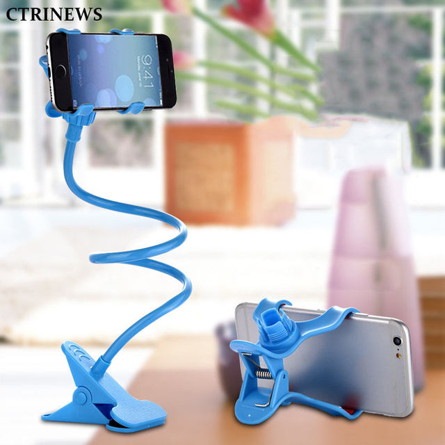1ead5ab241fe Mobile Phone Holder Universal 360 Degree Flexible Long Arm Lazy Holder  Stand Mount Cell Phone Holders Bracket For iPhone 8 7 6S