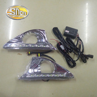 Only For Russian LED Daytime Running Light LED DRL For Toyota Camry 2012 Free Shipping