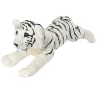 simulation prone white tiger large 60cm plush toy soft pillow Christmas gift b0098