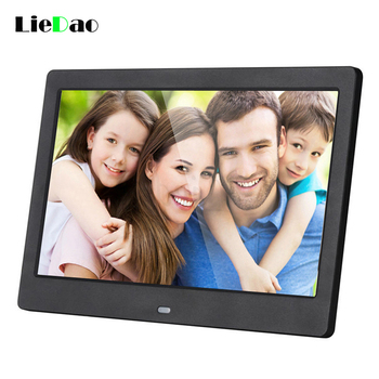 LieDao 10 inch Screen Digital Photo Frame HD 1024 x 600 Electronic Album Picture Music Video Full Function Good Gift