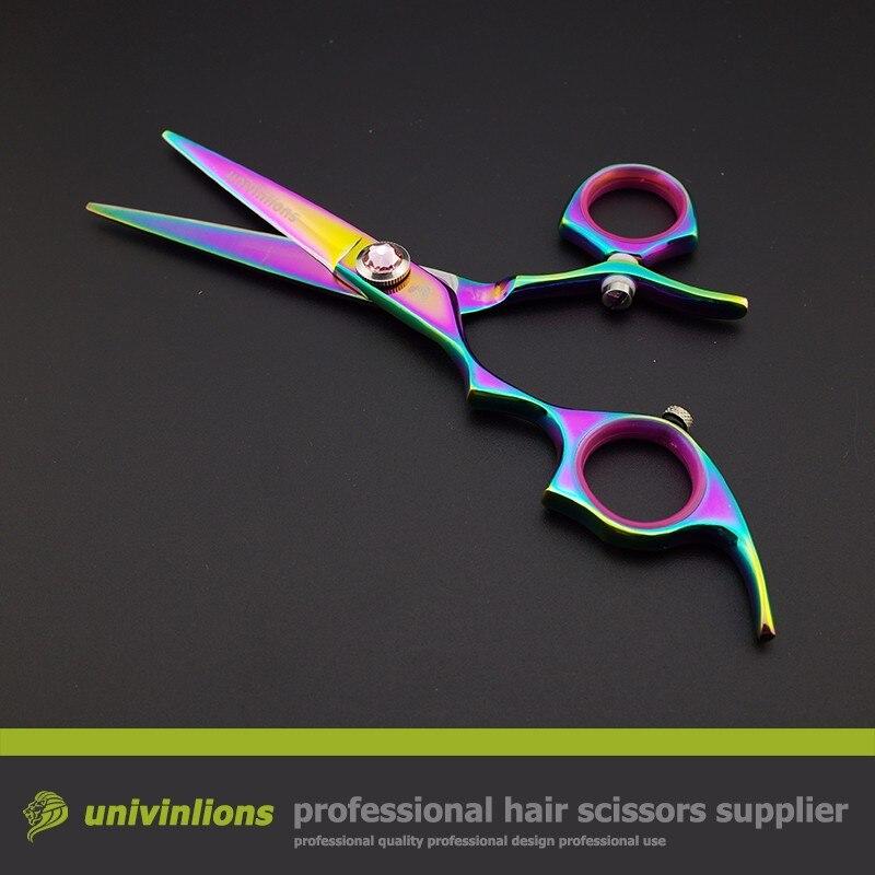 Tesoura de cabeleireiro profissional de mão esquerda