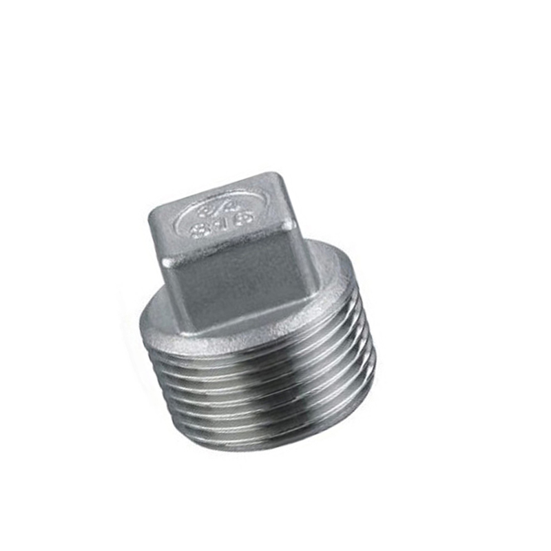 3 8 Quot Bsp Male Thread Square Head Plug 304 Stainless Steel