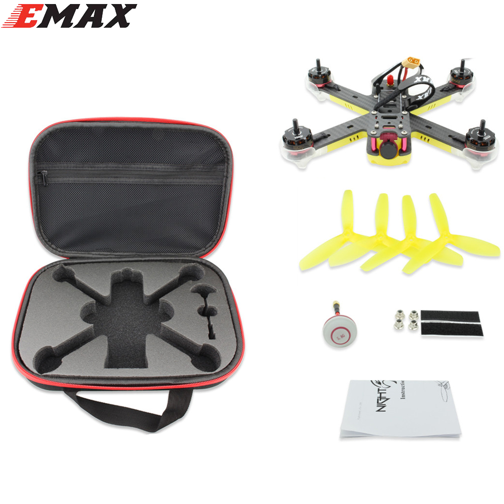 1 set EMAX Nighthawk Pro 200 PNP Quadcopter 200mm F3 FPV Racing Drone With 5.8G 48CH 25-200mW VTX 600TVL CCD Camera