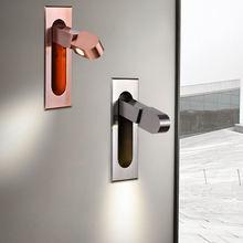 3w светодиодный бра Спальня Гостиная фон с имитацией изголовья