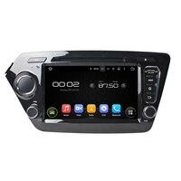 8 Inch Android 5.1.1 Autoradio 2 Din Auto Dvd-speler Met Bluetooth TV Wifi 3G/4G Spiegel Link GPS Navi Voor Kia K2/RIO 2011-2012