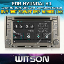 WITSON CAR DVD GPS for For HYUNDAI H1(STAREX) New Technology+Capctive Screen+1080P+DSP+WiFi+3G+OBD+DVR+Good Price+Free shipping