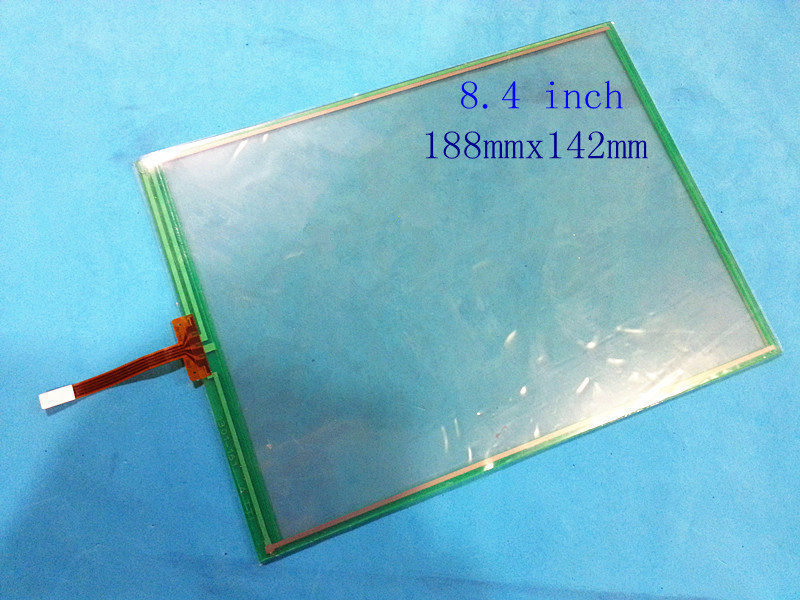 8.4'' inch 4 wire Resistive Touch screen digitizer 188mmx142mm GPS/Tablet PC/MID touch panel/Industrial use 6 9 touch screen resistive touch screen 165 100 4 line gps touch screen