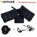 3 pcs FBIM Bluetooth Interphone Intercom 1200M Wireless Intercom for Motorcyclists Directors Full Duplex Referee Interphone