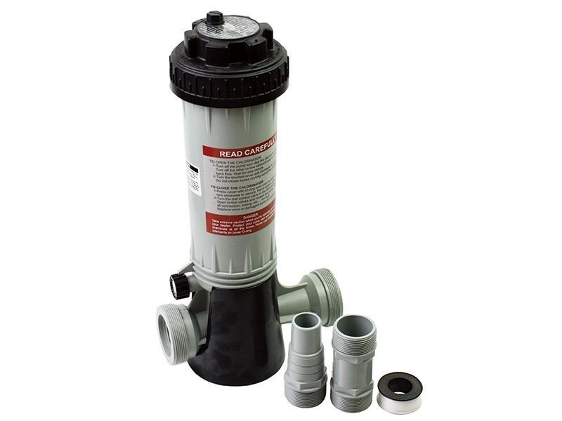 ФОТО 4.2lb(1.9kg) inline chlorine feeder kit Automatic Inline Pool and Spa Automatic Chlorine Feeder Chlorinator Tablets