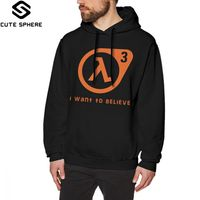 060e134c4 Half Life Hoodie Half Life 3 I Want To Believe Hoodies Loose Over Size  Pullover Hoodie