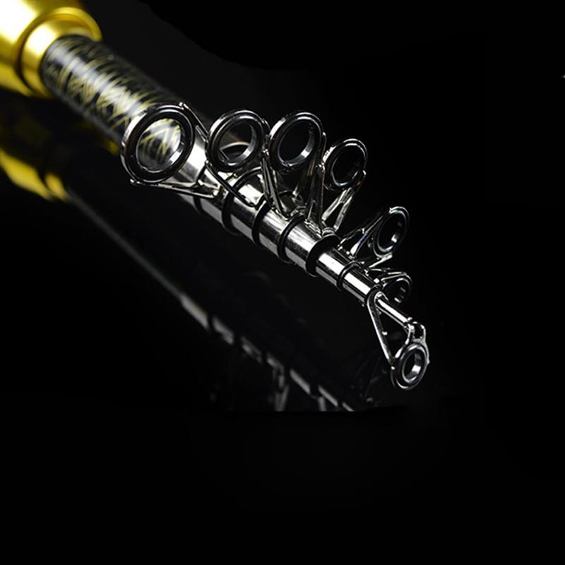 1.8M 2.1M 2.4M 2.7M 3.0M Portable Telescopic Fishing Rod Spinning Fish Hand Fishing Tackle Sea Rod Ocean rod