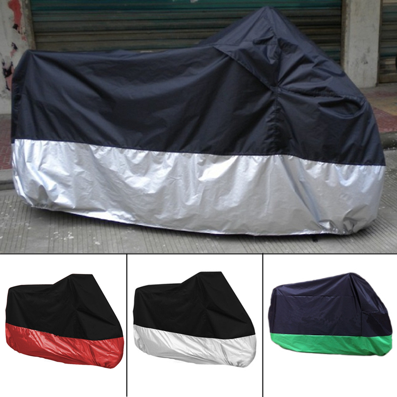 Motorcycle Cover Waterproof Outdoor UV Dust Protector Rain Dustproof Cover for Motorcycle Scooter Accessories #B08