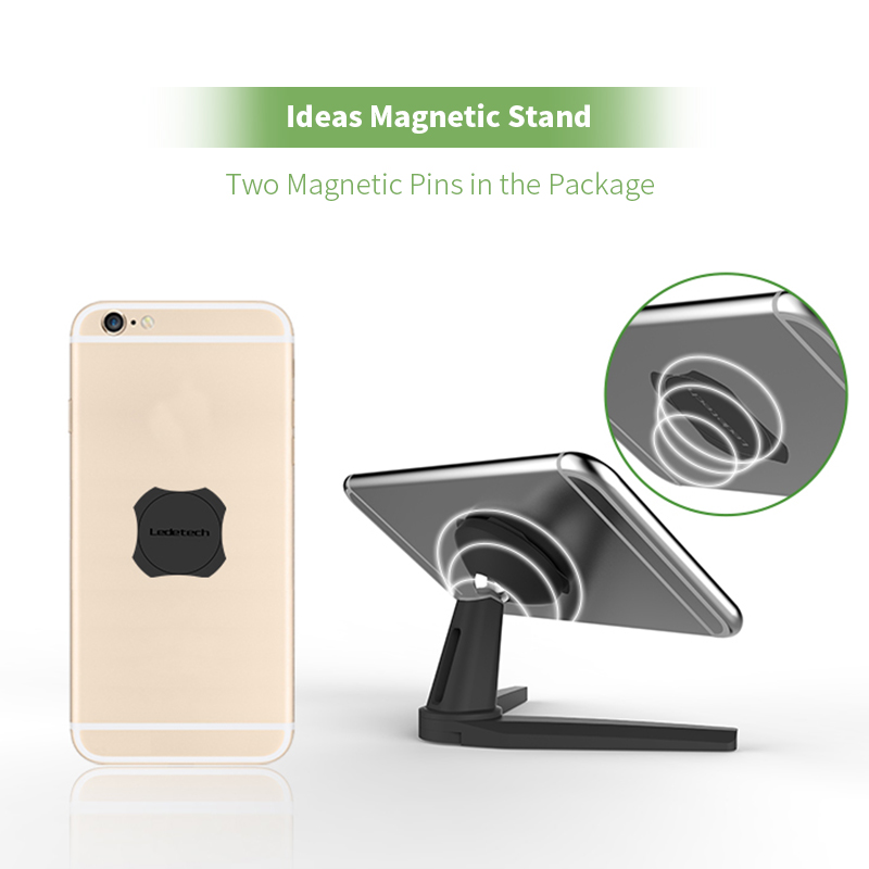 LariCare Car Phone Stand Wall phone Holder Magnetic Tablet Stand Could be Used in the car Luggage Box anywhere you want in Phone Holders Stands from Cellphones Telecommunications