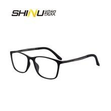 Fashion Unisex TR90 Reading Glasses Mutlifocal Progressive Reading Eyeglasses Hy