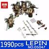 LEPIN 1990pcs 05047 Star Wars Ewok Village Building Blocks Juguete Para Construir Bricks Christmas Gift Toys