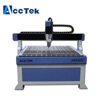 Acctek cnc router wood bed engraving 1212