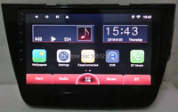Ouchuangbo android 7.0 audio gps navigation radio recorder for MG ZS with 10.1 inch mirror link bluetooth MP3 2GB+32GB
