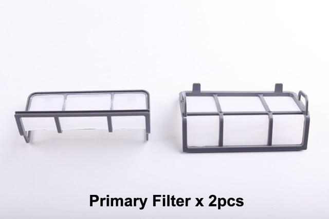 (Voor X500, B2000, B3000, B2005, B2005 PLUS, B3000PLUS) Primaire Filter voor Vacuum Cleaning Robot, 2 stks/pak, stofzuigen Tool Onderdelen