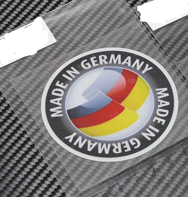High quality for made uin germany car reflective sticker and decals cool modified accessories in car stickers from automobiles motorcycles on