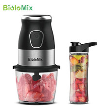 Kecepatan Tinggi Multi Fungsi 500W Food Processor Penggiling Daging Portable Personal Mini Blender Mixer Juicer Kering Grinder 900 Ml chopper(China)