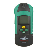 MASTECH MS6906 Stud Metal AC Voltage Scanner Detector Test 3 In 1 Multifunction Thickness Gauge W